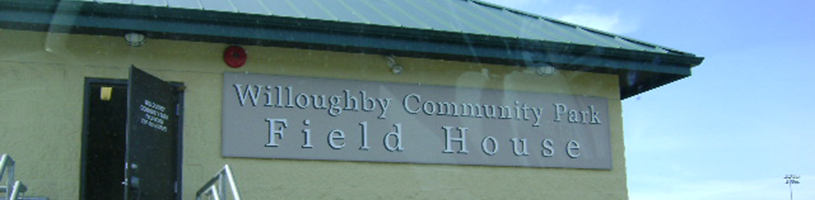Willoughby Community Park - Field House